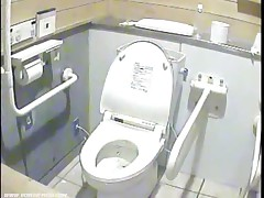 Voyeur camera in the ladies toilet
