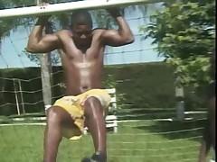 Black gay outdoor