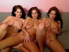 Triplets Webcam Show