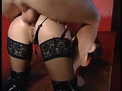 Michelle wild in latex lingerie