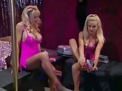 Cute lesbo strippers