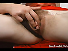 No Sound: HomeGrownHairyBush's Two Lesbians With Hairy Pussi...