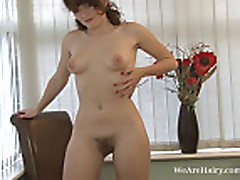 Fawna Latrisch has pretty tits and a hairy pussy