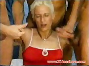 German mature group sex