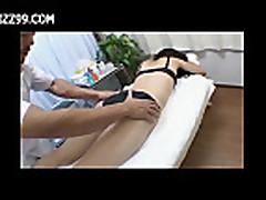 cutie creampie fucked by masseur