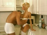 Maid Anita Blond Hardcore And Fuck On Kitchen Till Get Cum On Mouth