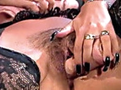 Kassi Nova - anal with dildo and Peter North