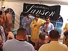 German Amateur GangBang Party