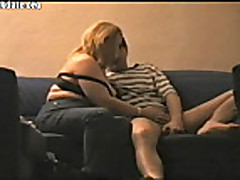 Blonde russian bbw amateur webcam fucking