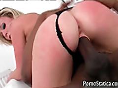 Jamie Brooks fucking and sucking black