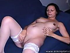 Pregnant Natalie 1