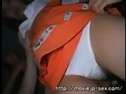 Asian nurse bukkake