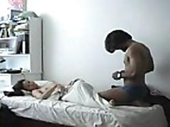 Home made - Indian guy fucks Korean girl