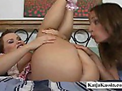 Two Chicks Loves Rimjob Action