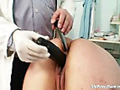 Big tits milf real gyno check up