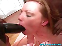 All black gangbang with British babe HollyKiss